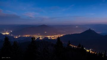 Nachts auf dem Rehbergturm